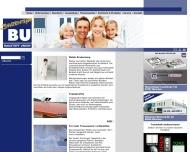 Website BUE Verwaltung