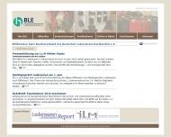 Bild Webseite Bundesverband des Deutschen Lederwareneinzelhandels Köln