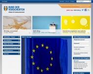 Bild Webseite Bund der Versicherten Hamburg