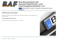 Bild Bundesverband der Autoschilderfirmen und Fahrzeugdienstleister e.V.