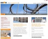 Bild Webseite MWZ Mitwohnzentrale Immobilien Duisburg