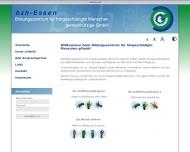 Bild bzh Essen-Bildungszentrum für hörgeschädigte Menschen gemeinnützige GmbH