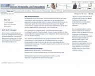Website BWFD Berliner Wirtschafts & Finanzdienst