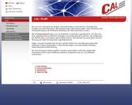 Website CAL Computer Aided Logistics
