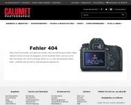 Bild Webseite CALUMET Photographic Hamburg