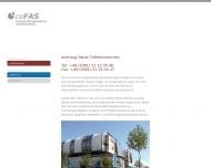 Bild ceFAS Zentrum für angewandte Systemlösungen e.V.