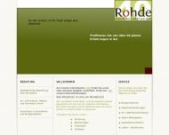 Website Immobilien Rohde