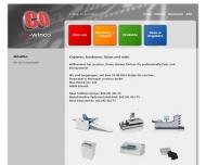 Bild Webseite co-winco Düsseldorf