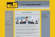 Bild Webseite C.S.Schupp Bau Konstanz