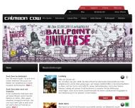 Bild Webseite Crimson Cow Hamburg