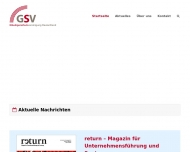 Bild Webseite GSV Service Köln