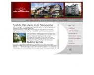 Website IWO Immobilien, Wohnungsverwaltung