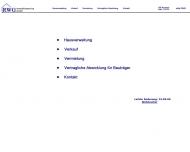 Bild Webseite RWG Immobilienservice Köln