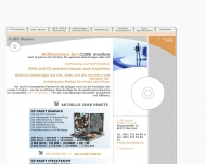 Bild Webseite CUBE Verwaltung München