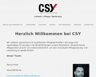 Bild CSY Compact - Systems -Services GmbH INTENSIVPFLEGE