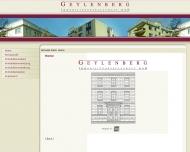 Bild Webseite Geylenberg Immobilien Köln