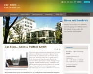 Bild Webseite Das Büro ... Abels & Partner Köln