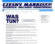 Bild Webseite Czesny Markisen Berlin