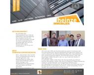 Bild Webseite Eckhard Heinze Immobilien Köln