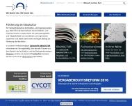Bild Webseite DAI - Verband Deutscher Architekten-und Ingenieurvereine Berlin