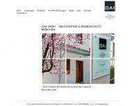 Bild Webseite DAI Dorn Architekten Ingenieure Gesellschaft für Gebäude- und Brandschutzplanung München