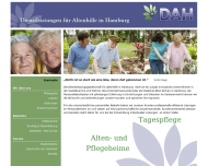 Bild Webseite DAH Dienstleistungsgesellschaft für Altenhilfe in Hamburg Hamburg