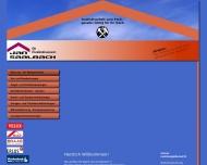 Bild Webseite Dachdeckerei Jan Saalbach Althegnenberg