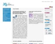 Bild Webseite DCS Innovative Diagnostik-Systeme Dr. Christian Sartori Hamburg