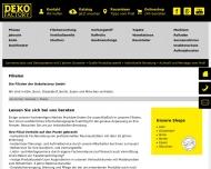 Bild Webseite DekoFactory Köln