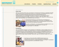 Dachrinnenheizung, Fussbodenheizung, Freifl?chenheizung gibt es beim Profi DEFROMAT Heizelektrik Gmb...