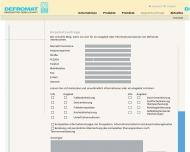 Website DEFROMAT Heizelektrik Gesellschaft