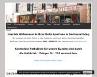 Bild Webseite Delta Apotheke Kristian Reissig Dortmund