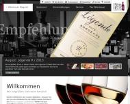 Bild Webseite Der Weinheuer Berlin