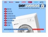 Bild Webseite Der Weisse, Thomas Meier Berlin