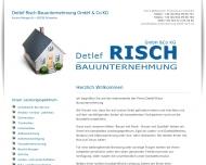 Bauunternehmung Detlef Risch - Ihr Fachmann rund um die Baustelle - im Kreis Dortmund - Hagen - Unna...