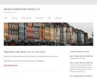 Bild Webseite Deutsch-dänischer Verein Hamburg