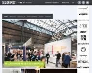 Bild Webseite DesignPost Köln Beteiligung Köln