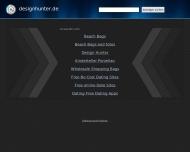 Bild Webseite designhunter Hamburg