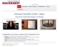 Bild Webseite Dessauer Gaszellen Dessau-Roßlau