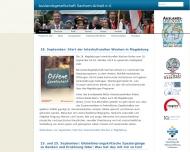 Bild Webseite Deutsch-Polnische Gesellschaft Sachsen-Anhalt Magdeburg