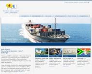 Bild Webseite Deutsche Schiffahrts-Agentur Hamburg