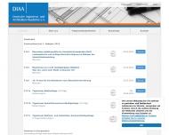 Bild Webseite Deutsche Ingenieur- und Architekten Akademie München