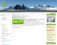 Website Deutscher Alpenverein Sektion Berlin