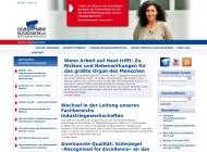 Bild Webseite DGB Bildungswerk NRW Düsseldorf