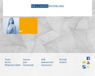 Website Die MelchersWerbung Werbeagentur und Verlags