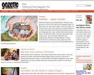 Bild Webseite Diamant Parfümerie Berlin