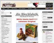 Bild Webseite die Blechfabrik Düsseldorf