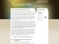Bild Webseite Die 2 - Augenoptik - Hamburg