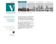 Bild Webseite Dipl.Kfm.Burghard Völkening, Hausverwaltung u. Treuhand Frankfurt