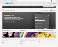 Bild Webseite Dichtelemente Hallite Hamburg
